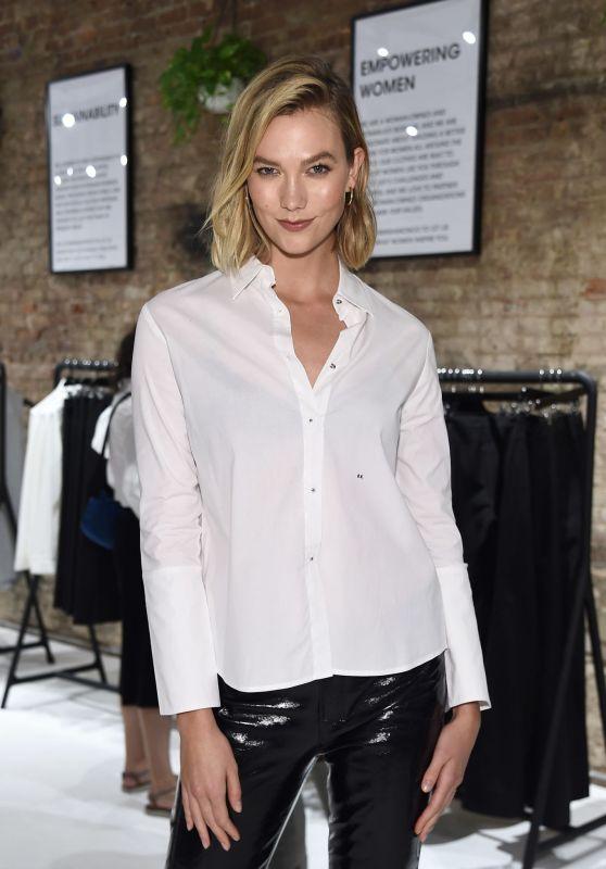 Karlie Kloss - Misha Nonoo Pop-Up Launch Event in New York ...
