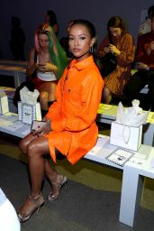 Karrueche Tran - Christian Cowan Fashion Show at NYFW 09/10/2019