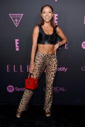 Karrueche Tran – ELLE, Women in Music Presented by Spotify in NYC