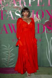 Kat Graham – Green Carpet Fashion Awards 2019