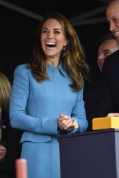 Kate Middleton - Naming Ceremony for The RSS Sir David Attenborough in Birkenhead 09/26/2019