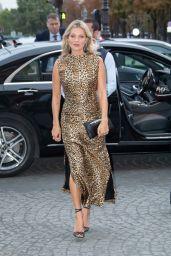 Kate Moss at The Hotel De Crillon in Paris 09/23/2019