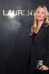 Kate Moss – Saint Laurent Show at Paris Fashion Week 09/24/2019