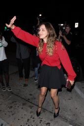 Katharine McPhee at Craig's in West Hollywood 09/01/2019