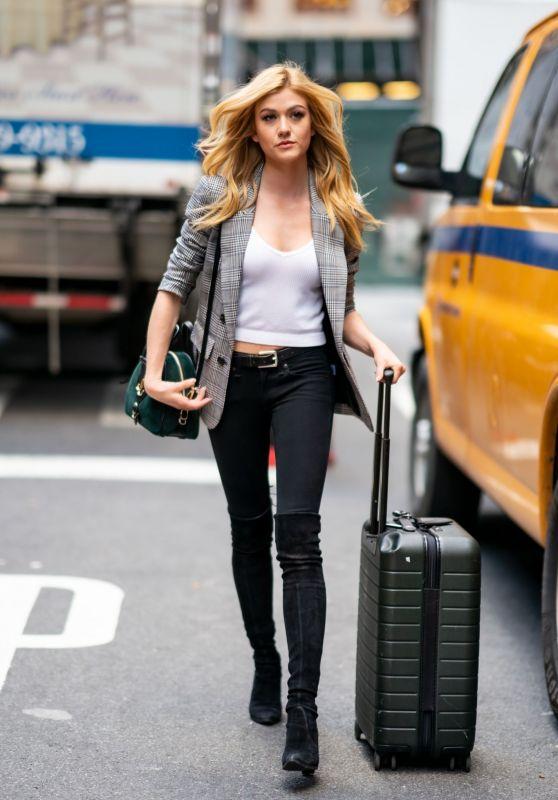 Katherine McNamara - Out in NYC 9/18/2019