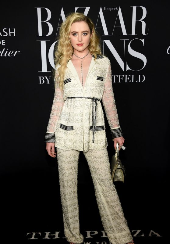 Kathryn Newton – 2019 Harper's Bazaar ICONS Party in NY