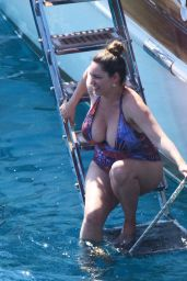Kelly Brook in a Swimsuit - Holiday in Turkey 08/29/2019