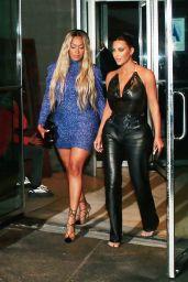 Kim Kardashian Night Out Style - Estiatorio Milos in New York 09/11/2019