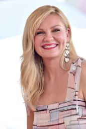 Kirsten Dunst - Honor With Star on The Hollywood Walk of Fame in Hollywood