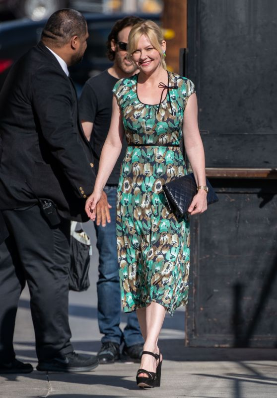 Kirsten Dunst - Outside Jimmy Kimmel Live! in Hollywood 09/05/2019