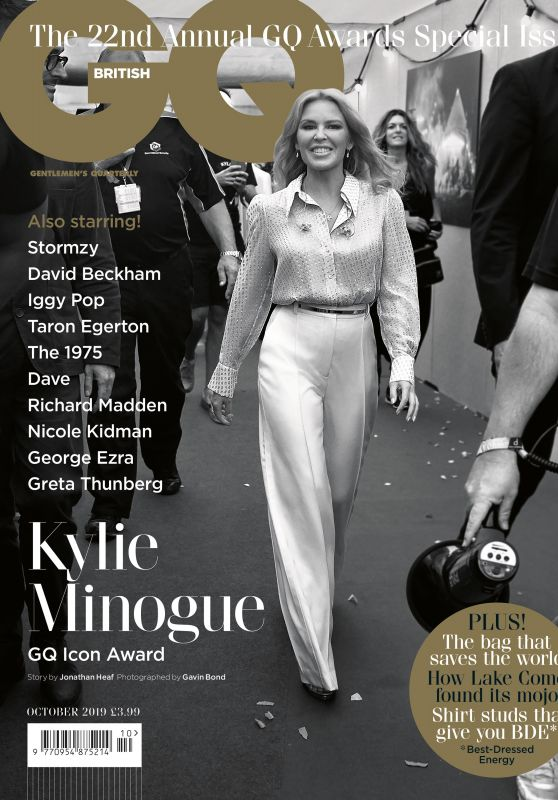 Kylie Minogue - GQ Magazine UK October 2019 Issue