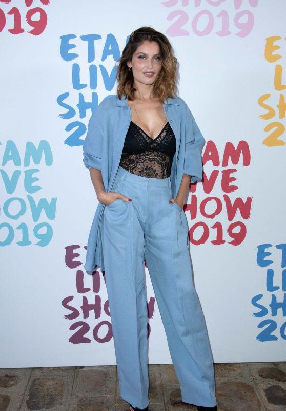 Laetitia Casta – Etam Show at Paris Fashion Week 09/24/2019