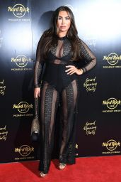 Lauren Goodger - Hard Rock Cafe, Piccadilly Circus Launch in London