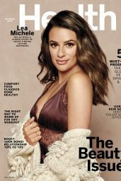 Lea Michele - Health Magazine October 2019 Cover and Photos