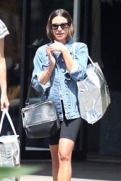 Lea Michele in Leggings - Out in Bel-Air 09/10/2019