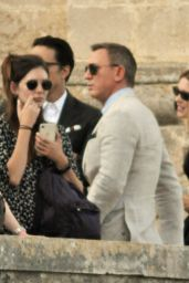 "Lea Seydoux - Filming James Bond 007 ""No Time To Die"" 09/10/2019"