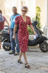 "Lea Seydoux - James Bond ""No Time to Die""  Set in Italy 09/11/2019"