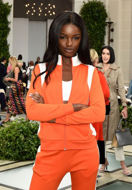 Leomie Anderson - Tory Burch Fashion Show in NYC 09/08/2019