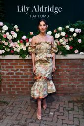 Lily Aldridge – Lily Aldridge Parfums Launch Event in NYC 09/08/2019