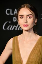 Lily Collins – 2019 Harper's Bazaar ICONS Party in NY
