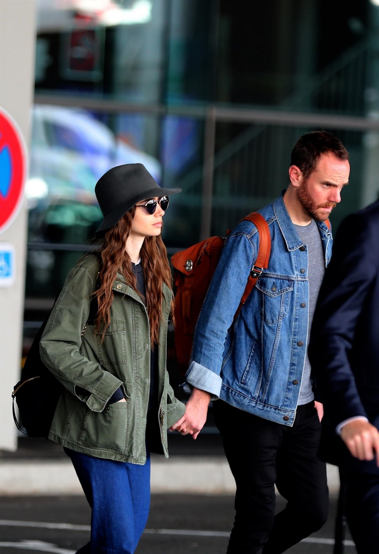 Lily Collins and New B...