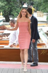 Lily-Rose Depp - Arriving at the 76th Venice Film Festival 09/02/2019