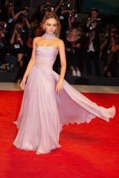 "Lily Rose Depp - ""The King"" Premiere at the 76th Venice Film Festival"