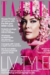 Liv Tyler - Tatler Magazine UK October 2019 Issue