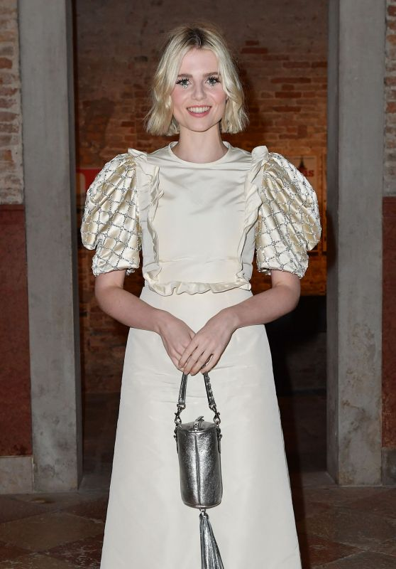 Lucy Bonyton – Miu Miu Women's Tales Dinner at 76th Venice Film Festival
