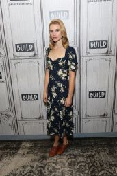 """Lucy Fry - Discussing """"Godfather of Harlem"""" at BUILD Studio in NYC 09/17/2019"""