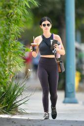 Lucy Hale - Getting Coffee in LA 09/01/2019