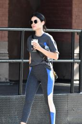 Lucy Hale - Heading to the Gym in NYC 09/15/2019