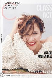 Maggie Gyllenhaal - C California Style & Culture Magazine October 2019