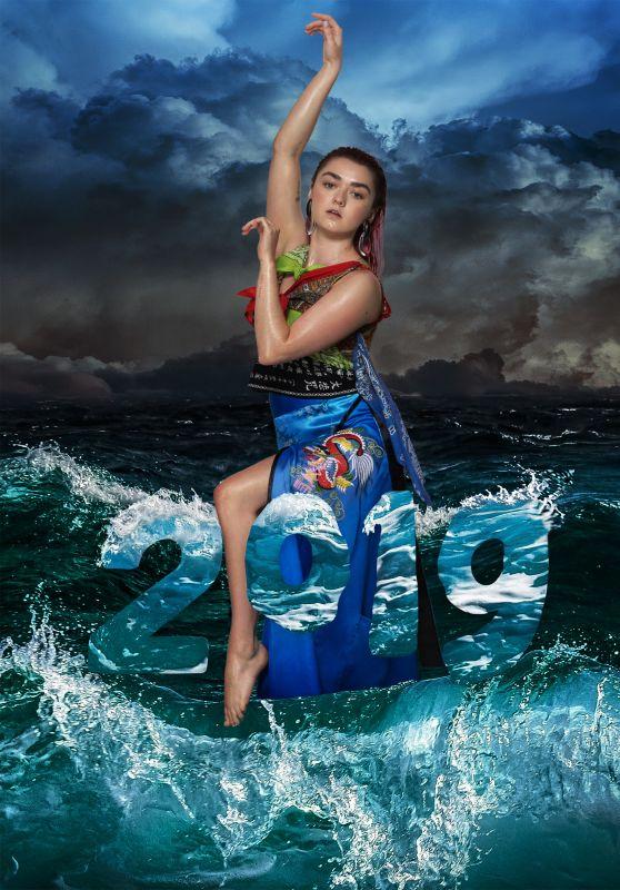 Maisie Williams - LN-CC September 2019