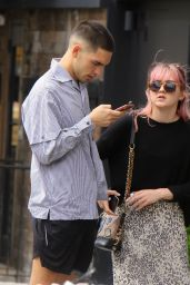 Maisie Williams With Reuben Selby - Out in NY 09/05/2019