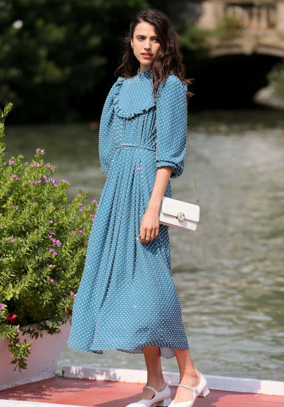 Margaret Qualley - Arriving at the 76th Venice Film Festival