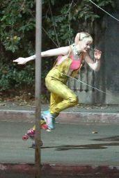 "Margot Robbie - ""Birds of Prey"" Set in Los Angeles 09/05/2019"