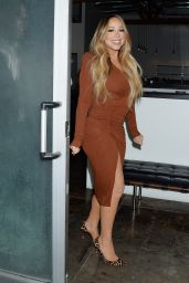 Mariah Carey Night Out Style - Hollywood 09/17/2019