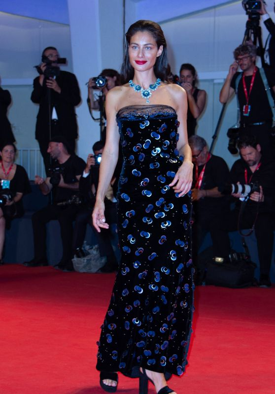 "Marica Pellegrinelli on Red Carpet – ""Seberg"" Screening at the 76th Venice Film Festival"