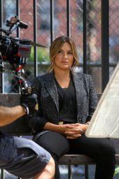 "Mariska Hargitay - ""Law and Order: Special Victims Unit"" Set in NYC 09/04/2019"
