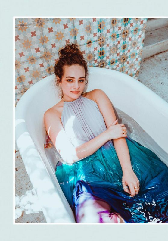 Mary Mouser - Saturne Magazine Summer 2019 Issue