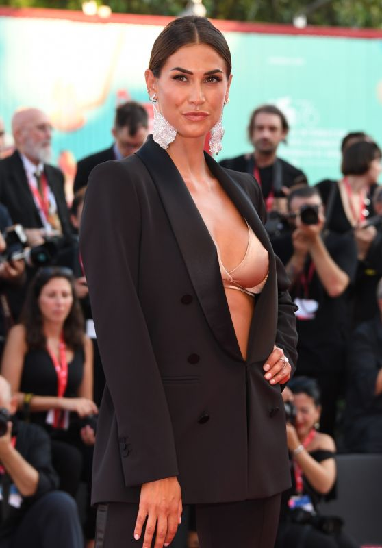"Melissa Satta – ""An Officer and a Spy"" Premiere at the 76th Venice Film Festival"