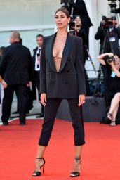 """Melissa Satta – """"An Officer and a Spy"""" Premiere at the 76th Venice Film Festival"""