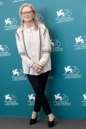 "Meryl Streep - ""The Laundromat"" Photocall at the 76th Venice Film Festival"