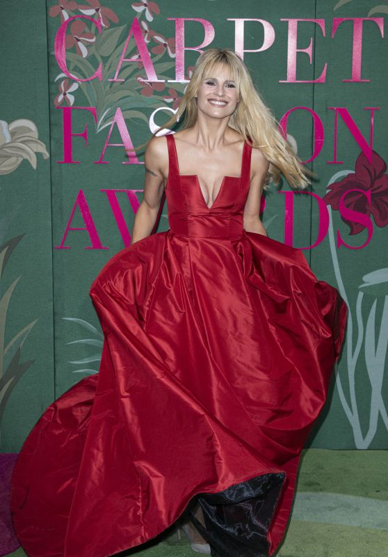 Michelle Hunziker – Green Carpet Fashion Awards 2019