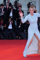 "Michelle Hunziker on Red Carpet – ""Joker"" Screening at the 76th Venice Film Festival"