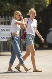 Miley Cyrus and Kaitlynn Carter - Out in Los Angeles 09/01/2019
