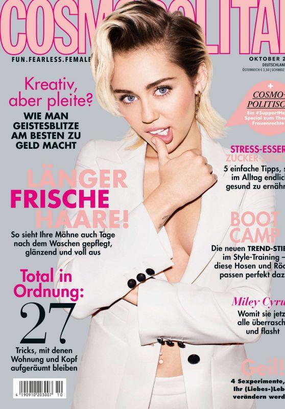 Miley Cyrus - Cosmopolitan Magazine October 2019 Issue