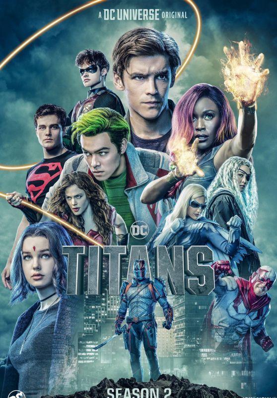 "Minka Kelly, Anna Diop, Cono Leslie - ""Titans"" Season 2 Promotional Material 2019"