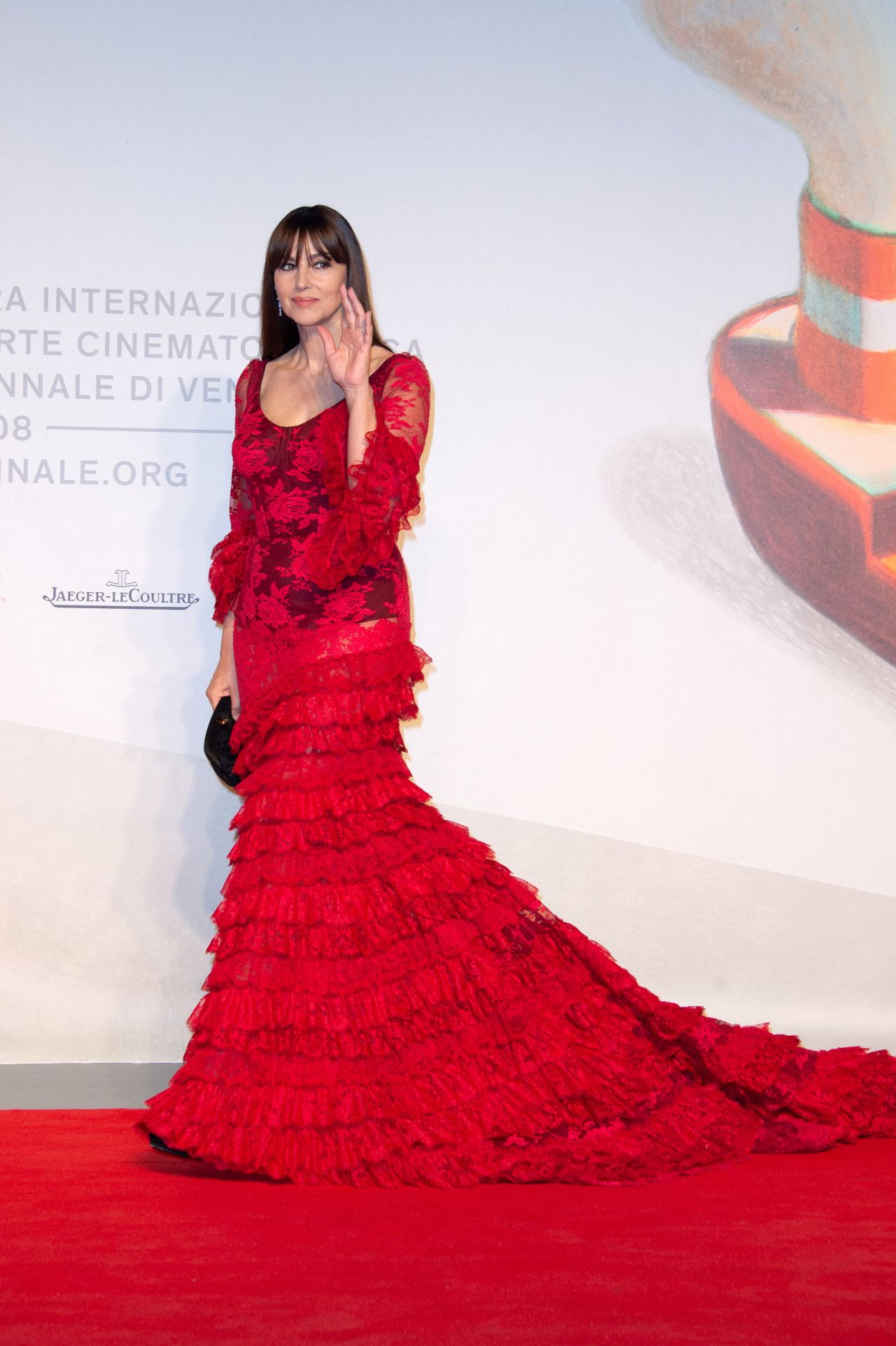 Monica Bellucci On Red Carpet Irreversible Inversion